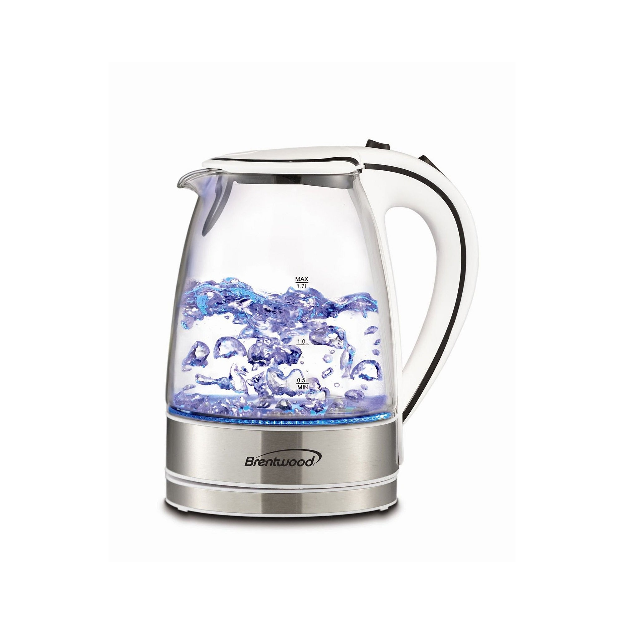 Brentwood Tempered Glass Tea Kettle