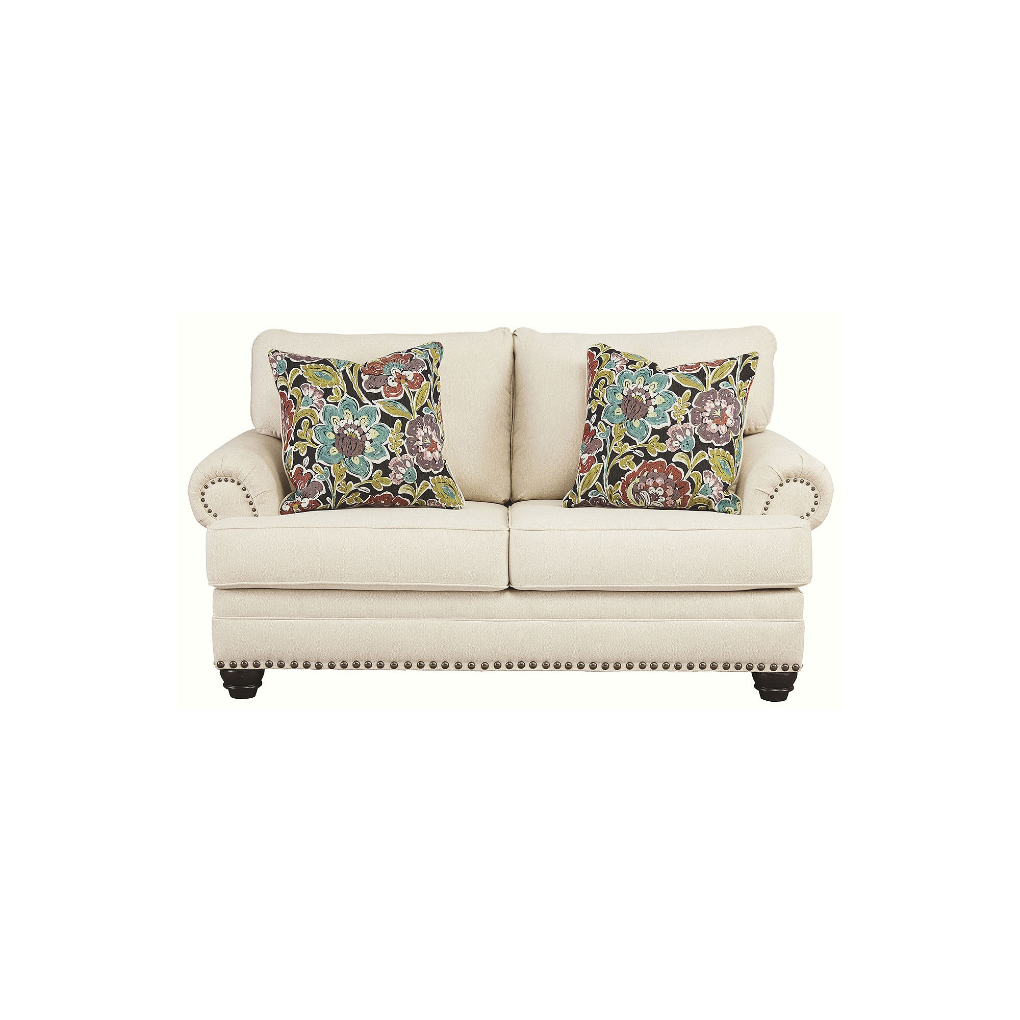 Signature Design by Ashley® Harrietson Pad-Arm Loveseat