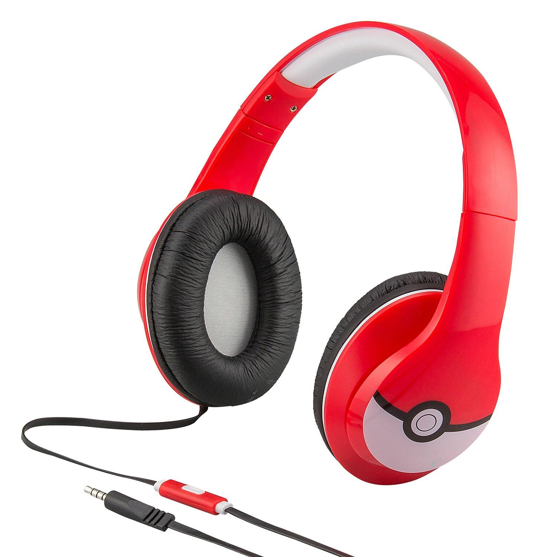 Pokemon Pokeball Over-the-Ear Headphones by iHome