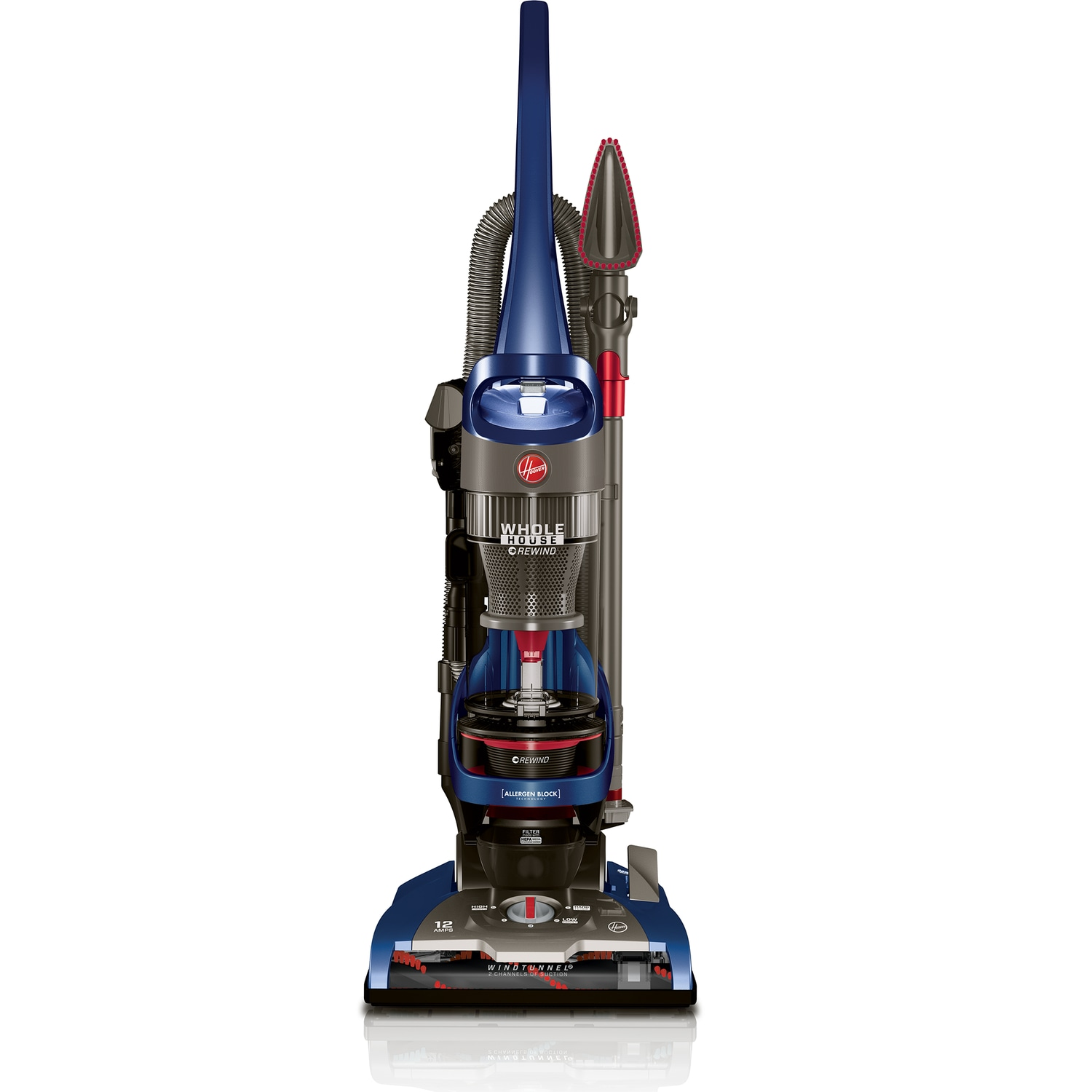 Hoover WindTunnel 2 Whole House Rewind Upright Vacuum