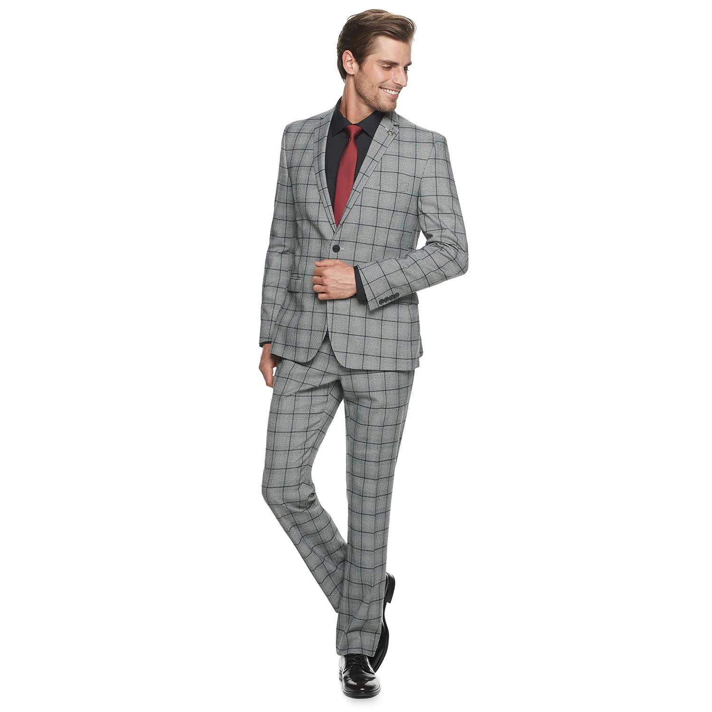"Men's Nick Graham Slim Fit 32"" Suit"