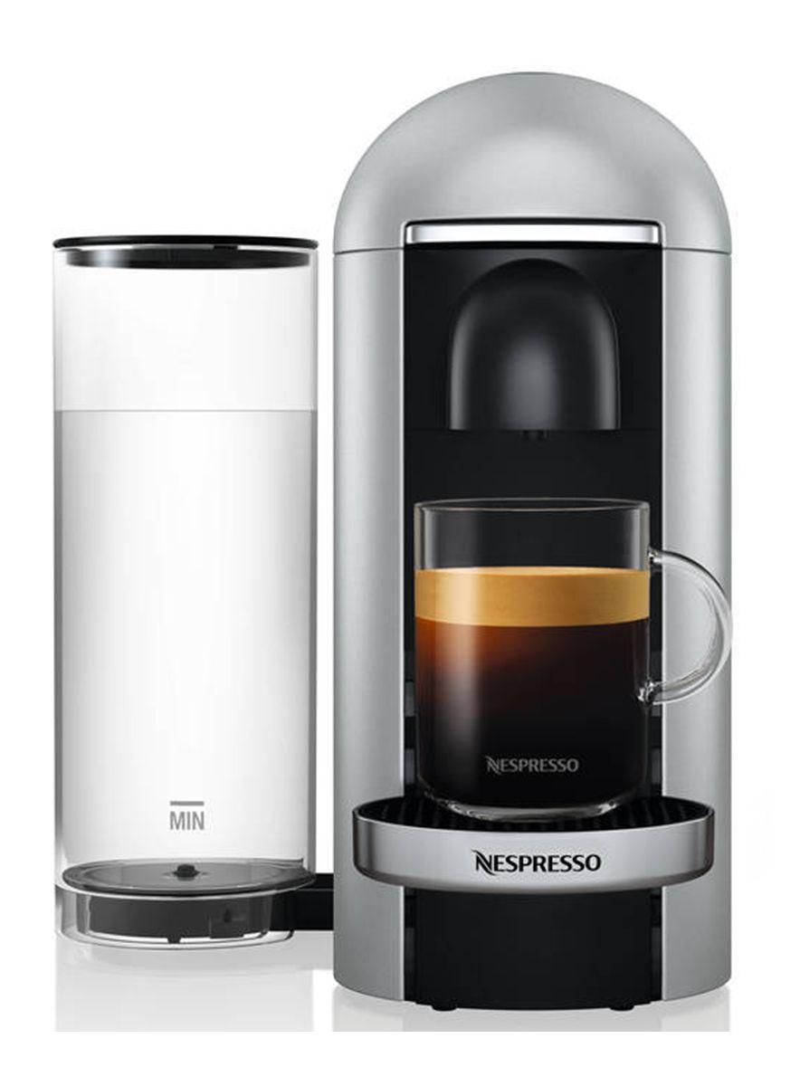 VertuoPlus Deluxe Bundle Coffee & Espresso Maker by Breville, Silver
