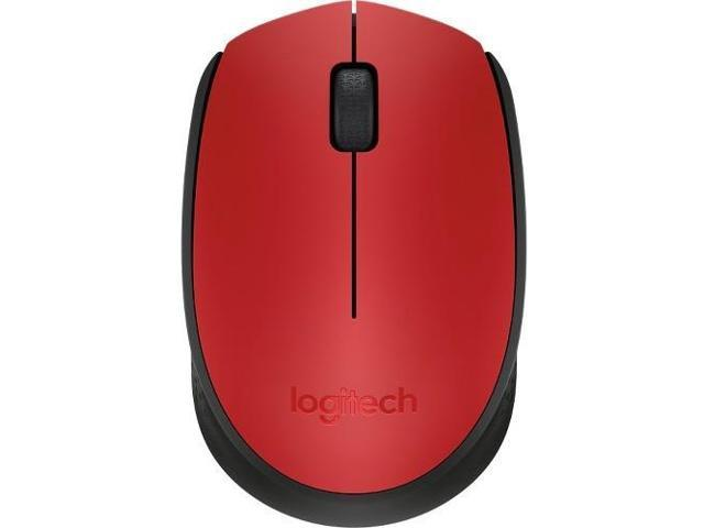 Logitech M170 910-004941 Red 1 x Wheel USB RF Wireless Optical 1000 dpi Mouse