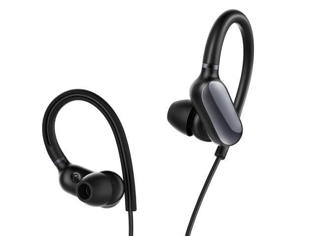 Xiaomi Mi Sports Bluetooth Earphones Mini, Lightweight, IPX4 Water Resistant, Anti-slip Hook Design