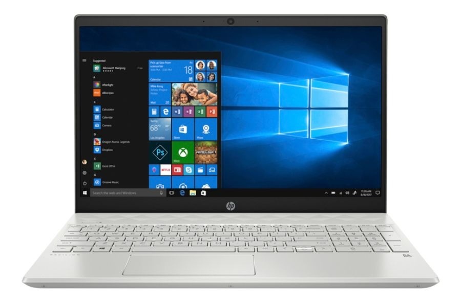 HP Pavilion Laptop, 15.6 Screen, 8th Gen Intel Core™ i7, 12GB Memory, 256GB Solid State Drive, Windows 10 Home, 15-cs2051od