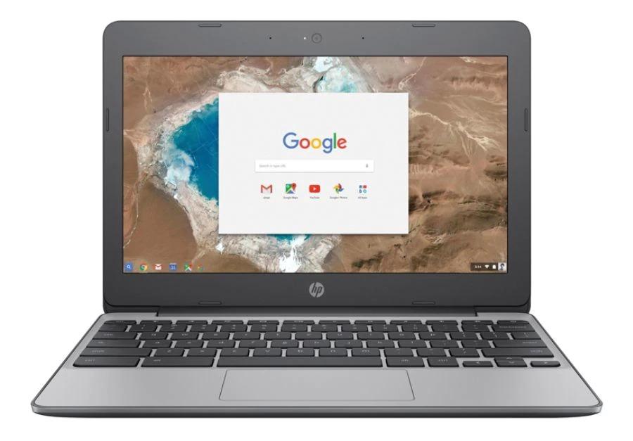 HP Chromebook 11-v010nr Laptop, 11.6 Screen, Intel Celeron N3060, 4GB Memory, 16GB eMMC Drive, Chrome OS™, Anodized Silver