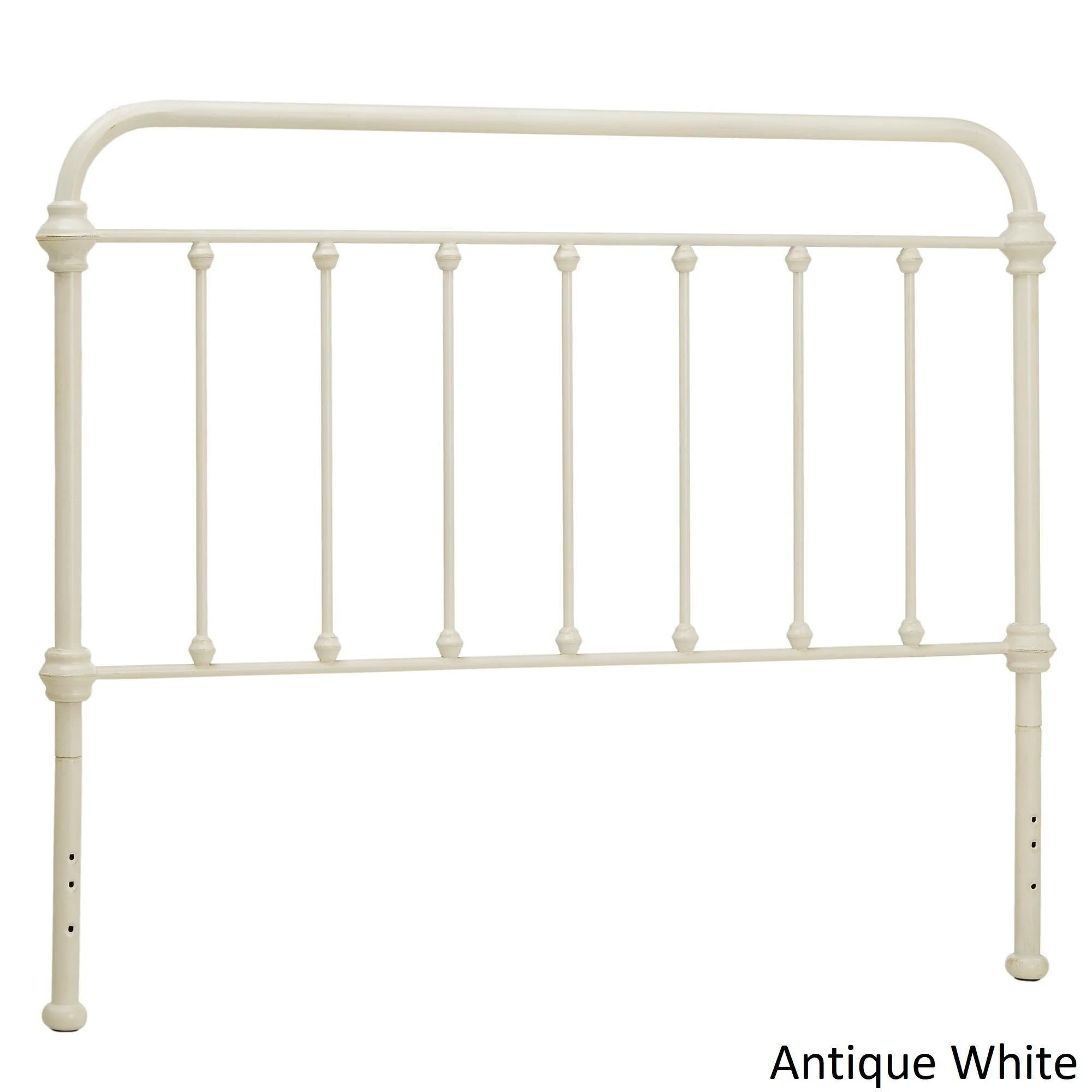 Giselle Antique Graceful Victorian Metal Headboard by iNSPIRE Q Classic