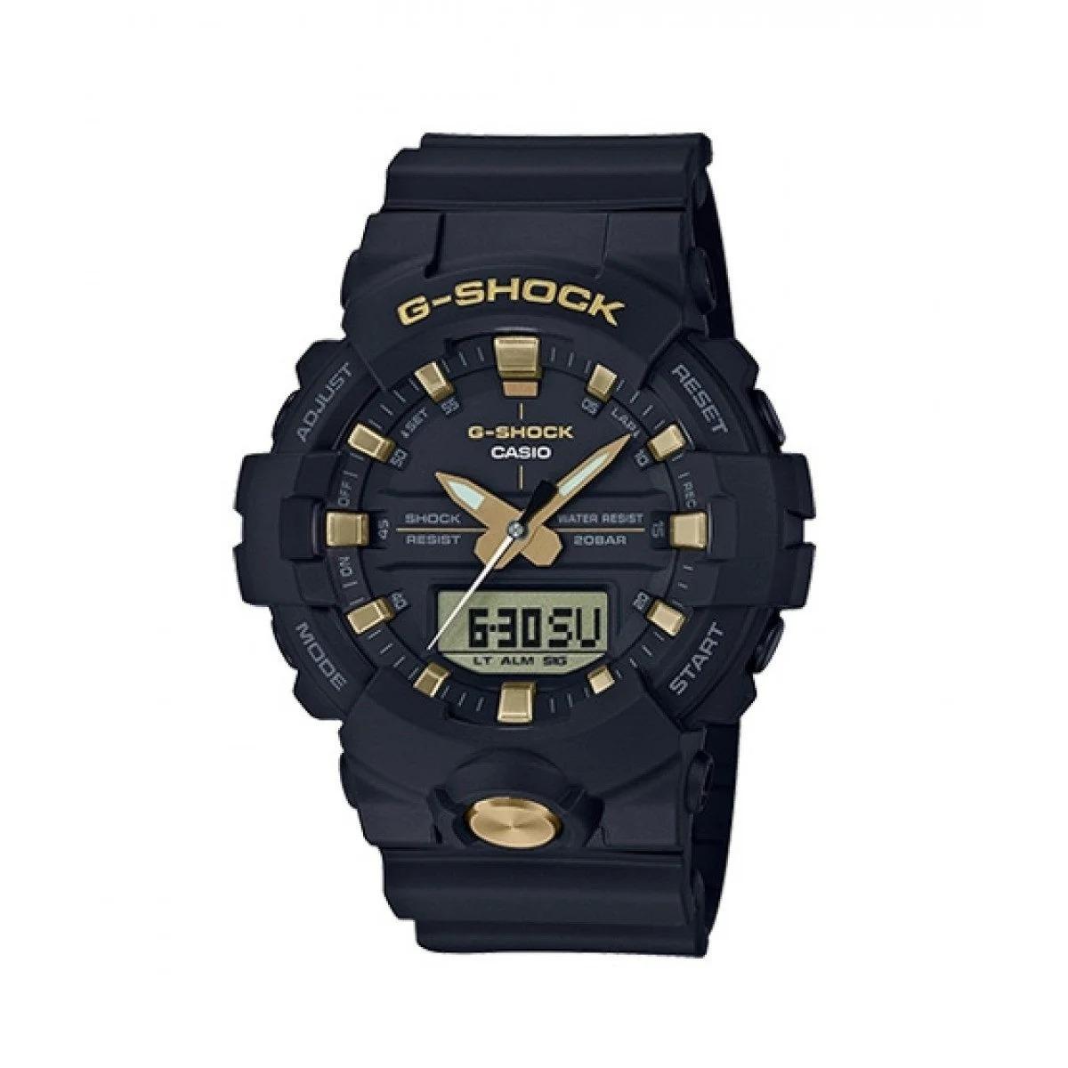 Casio Men's GA810B-1A9 'G-Shock' Black Silicone Watch