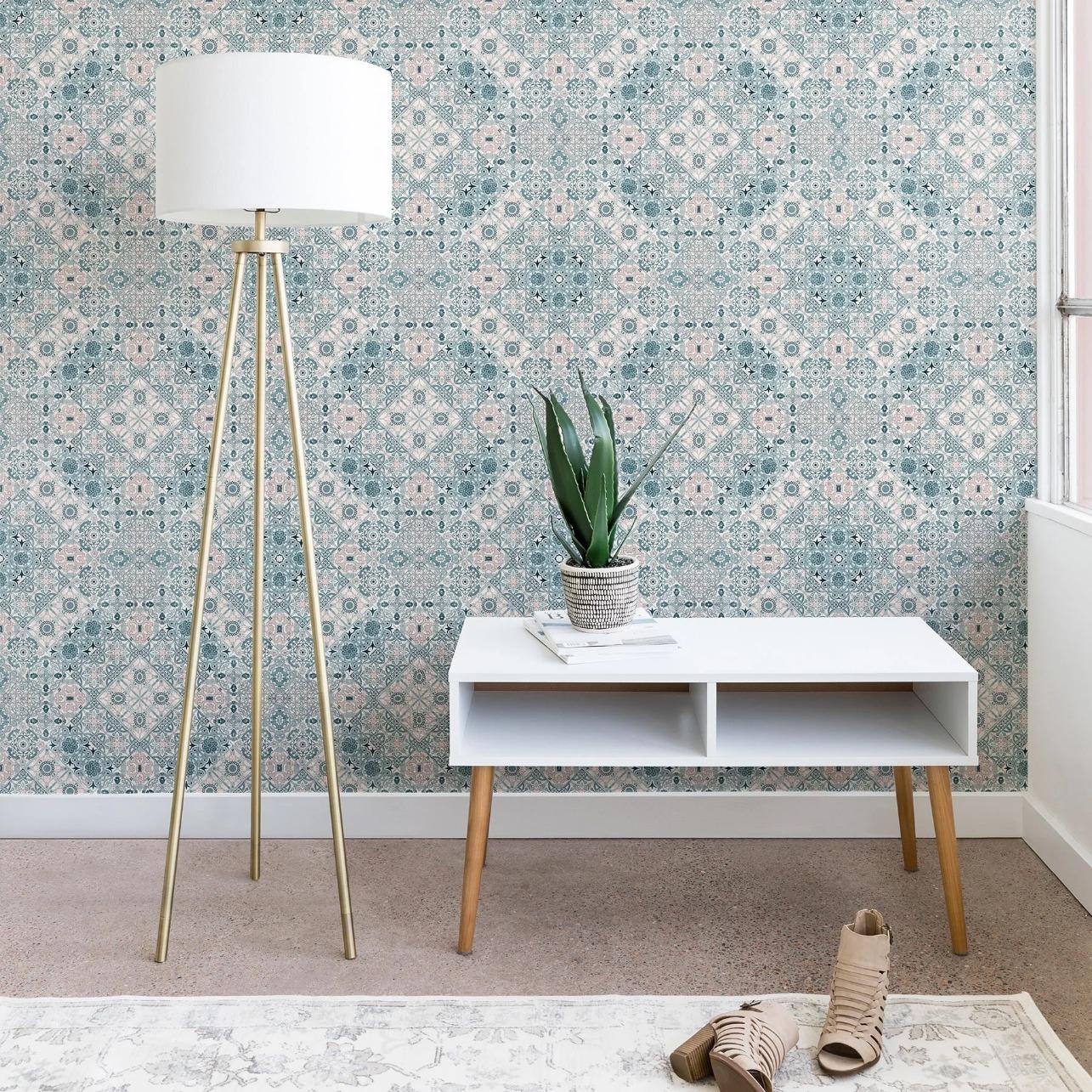 Marta Barragan Camarasa Ceramic Tile Patterns Wallpaper
