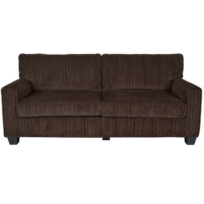 "Serta® RTA Palisades Collection 78"" Sofa in Riverfront Brown, CR43539PB"