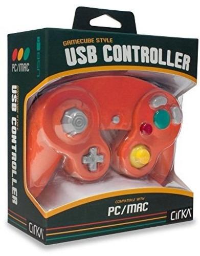 CirKa Premium GameCube USB Controller - Crimson Red for PC