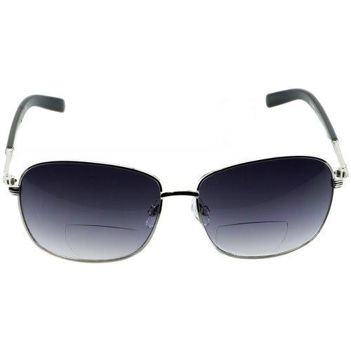 Solara Bi-Focal Sunreader Glasses, Solo - Gunmetal