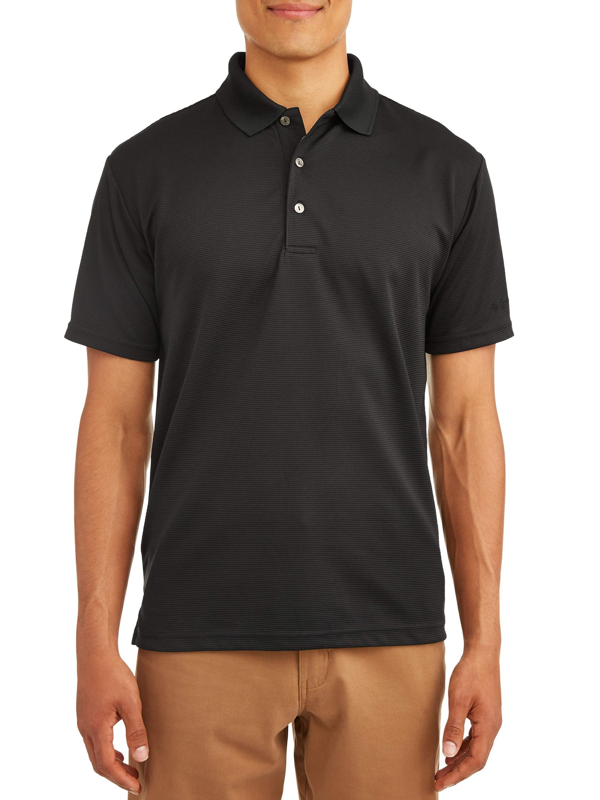 Ben Hogan Men's Performance Easy Care Solid Short Sleeve Polo Shirt