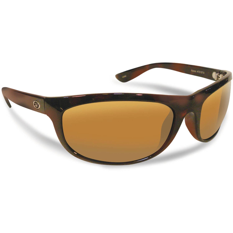 Flying Fisherman Azore Polarized Sunglasses, Tortoise Frame, Amber Lens