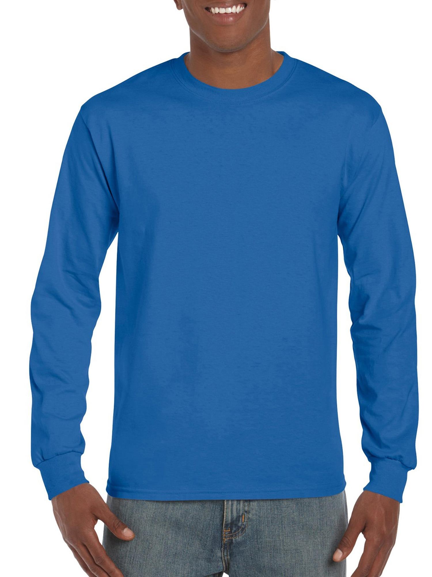 Gildan Big Men's Ultra Cotton Classic Long Sleeve T-Shirt