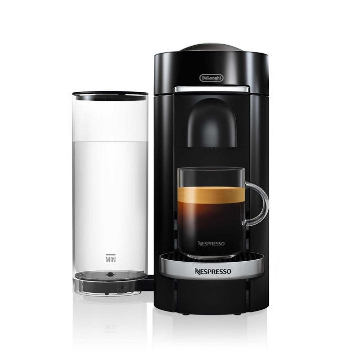 Nespresso Vertuo Plus Deluxe Coffee and Espresso Maker by De'Longhi