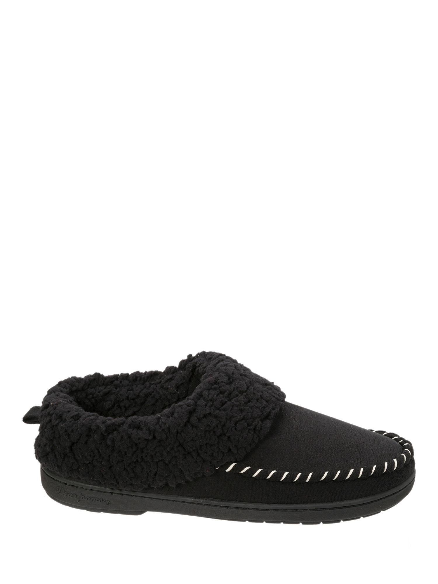 Dearfoams Women's Microsuede Clog Slippers