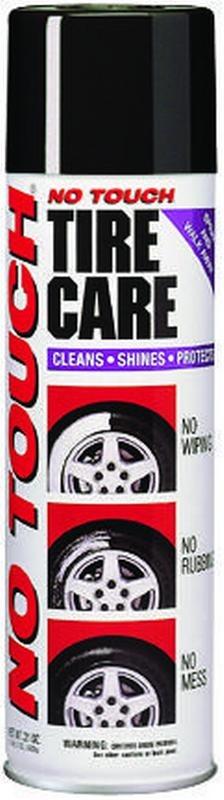 No Touch Original NT-21 Tire Shine, 21 oz Aerosol, White, Liquid