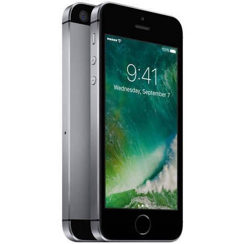 Refurbished Apple iPhone SE 16GB, Silver - Locked Sprint Item