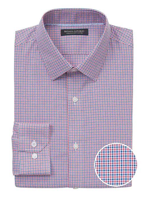 Grant Slim-Fit Non-Iron Dress Shirt