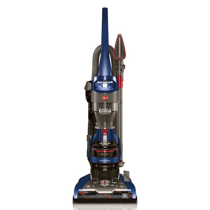 Hoover® WindTunnel® 2 Whole House™ Rewind Upright Vacuum in Blue