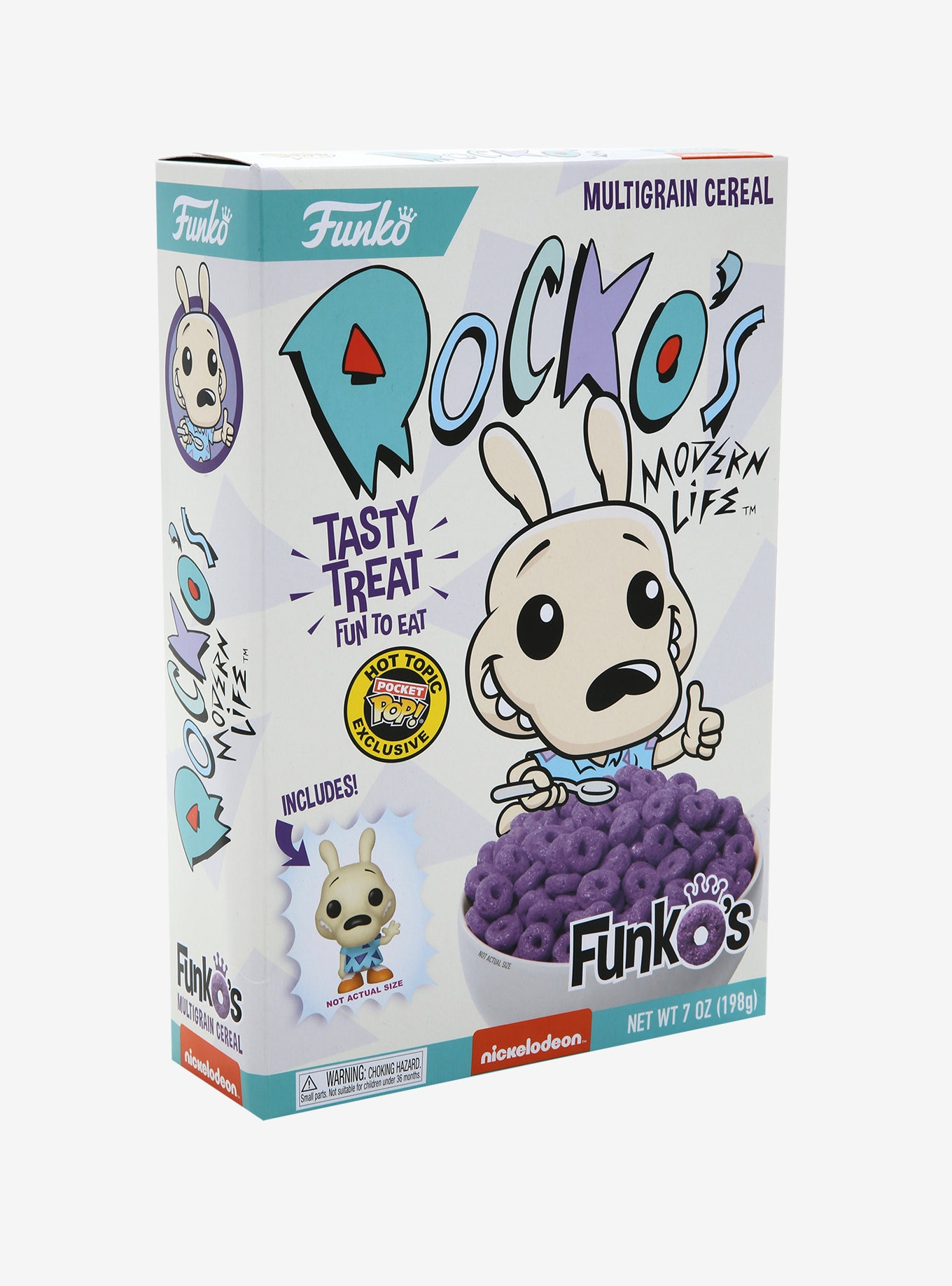 Funko Rocko's Modern Life Funko's Cereal With Pocket Pop! Rocko Cereal Hot Topic Exclusive
