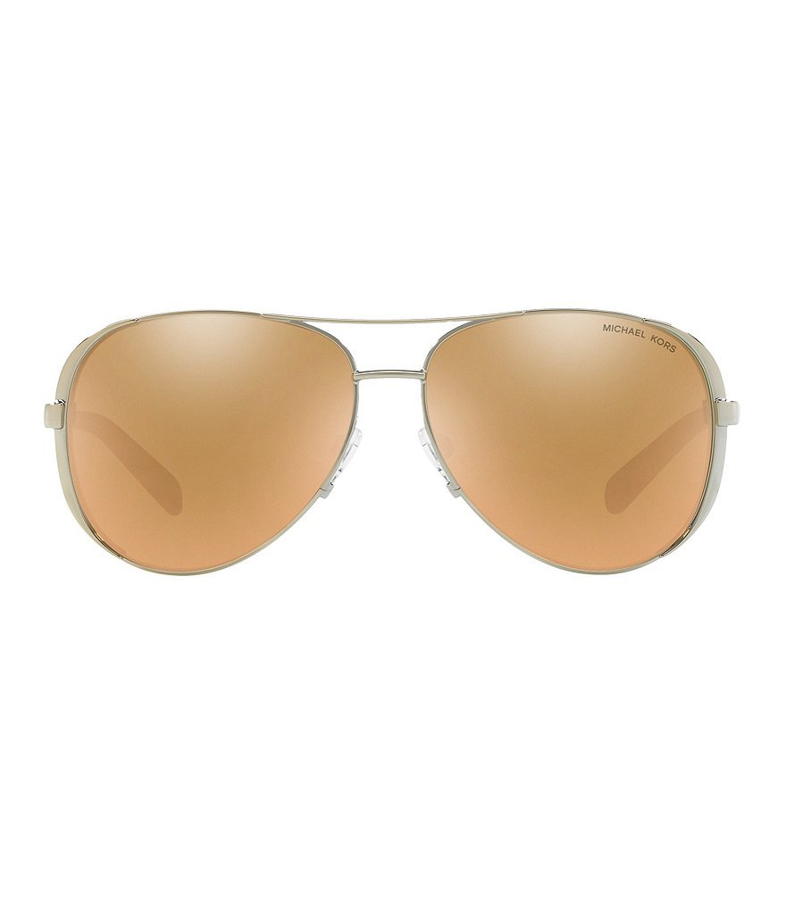 Chelsea Metal UVA/UVB Protection Aviator Sunglasses