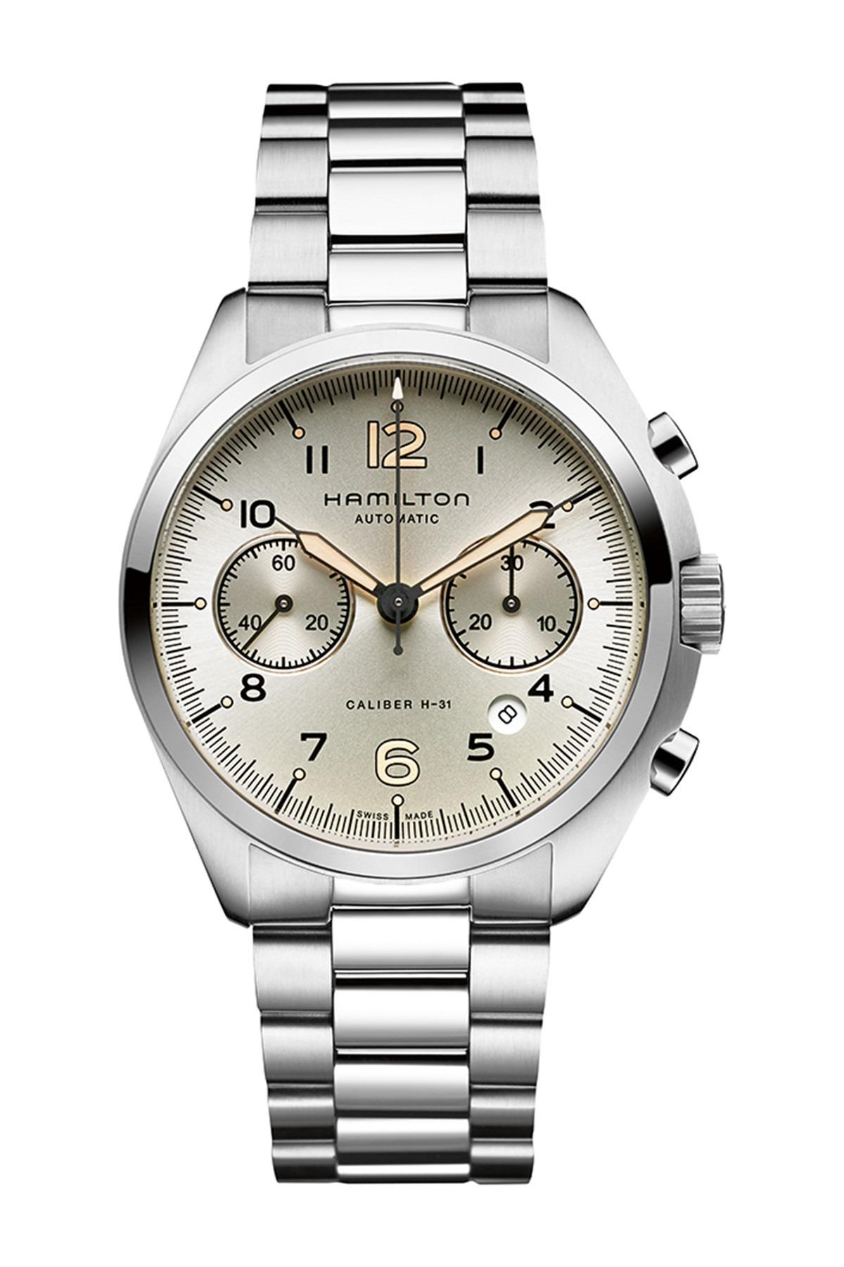 Hamilton Men's Khaki Pilot Pioneer Automatic Bracelet Watch, 41mm