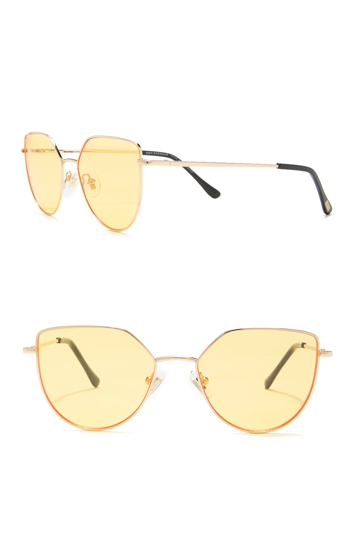 DIFF Eyewear Pixie XL 53mm Sunglasses