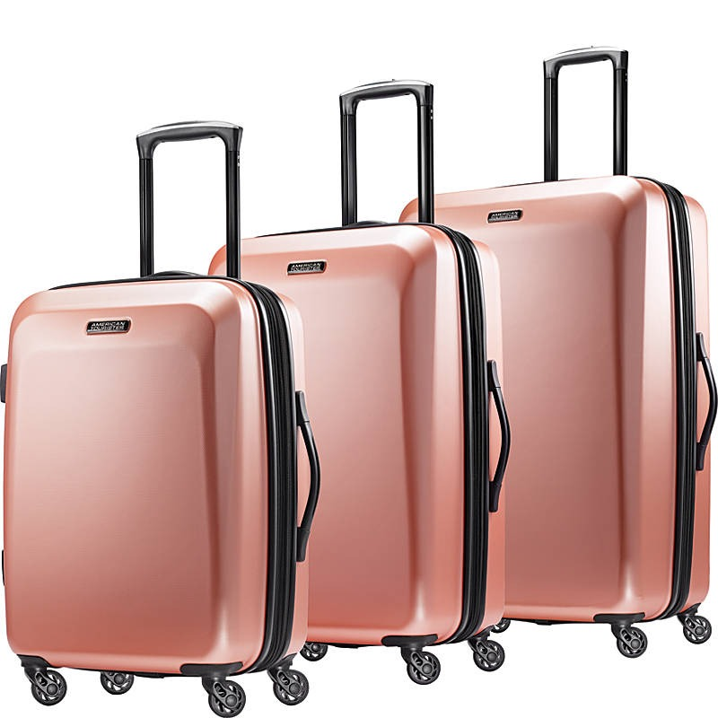 Moonlight 3pc Hardside Expandable Spinner Luggage Set- eBags Exclusive