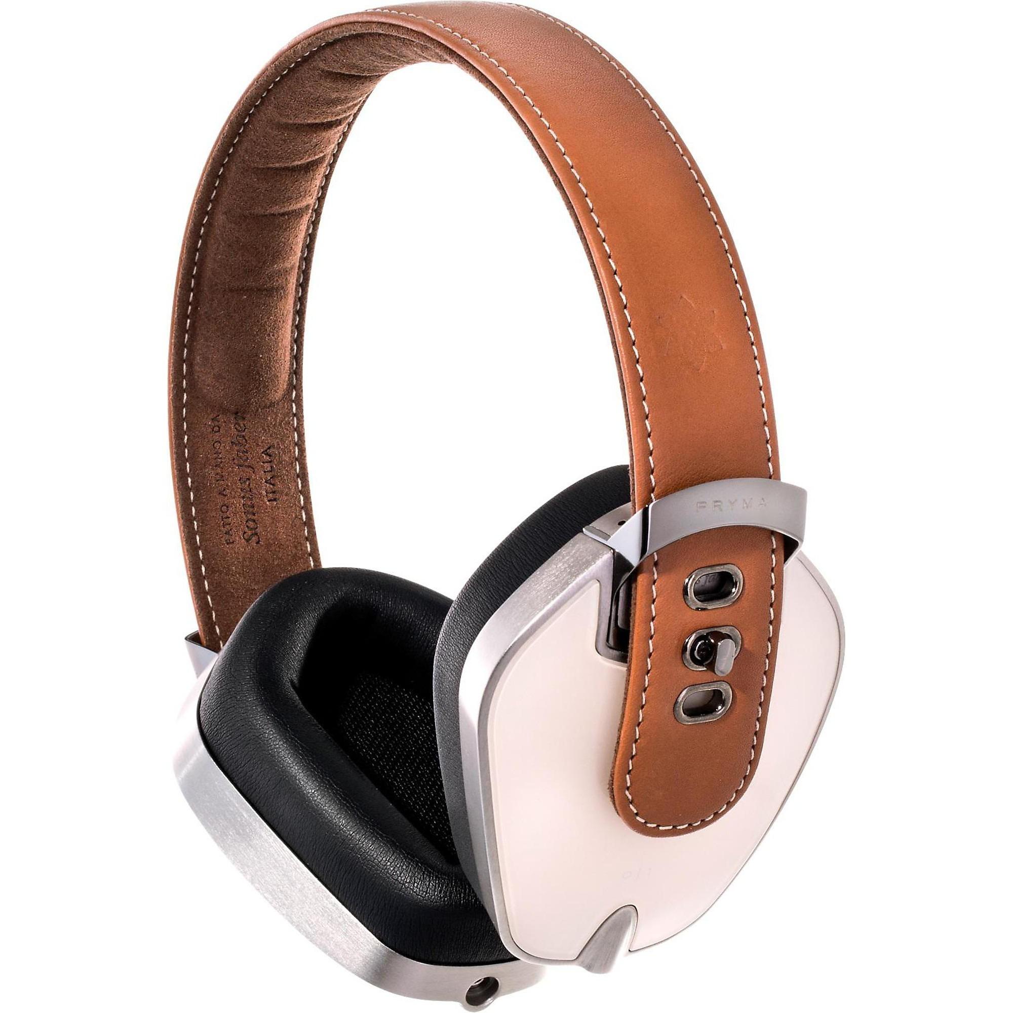 Leather & Aluminum Headphones
