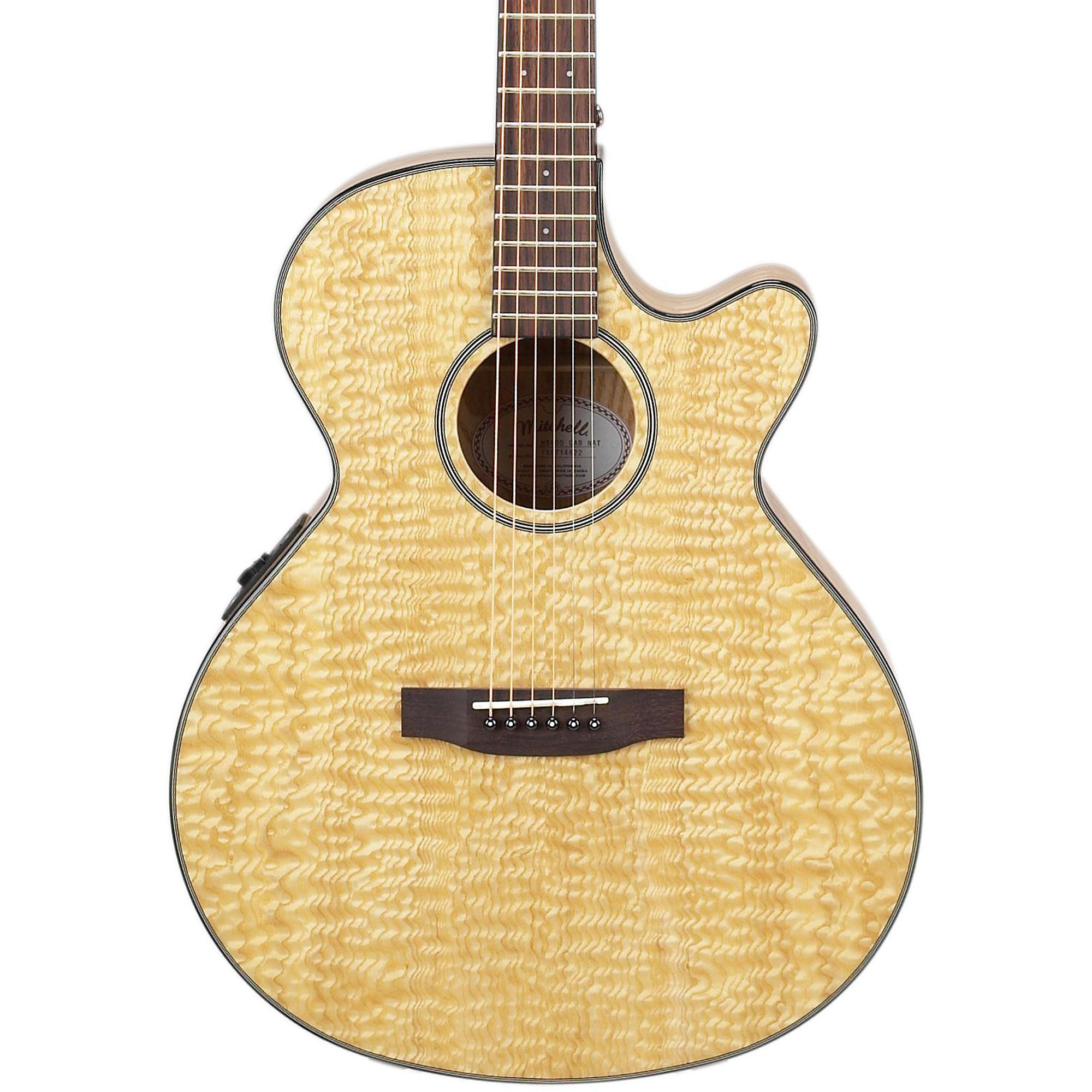 MX400 Exotic Wood Acoustic-Electric Guitar